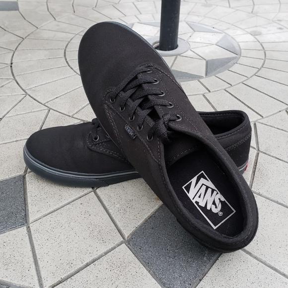 3cbf2e1414 Vans Lo Pro Era Black Canvas Skate Shoes Size 8. M 5b2dc09a6a0bb71b0206c7fb